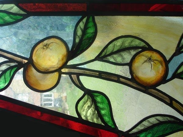 Barrie Juniper window (detail)