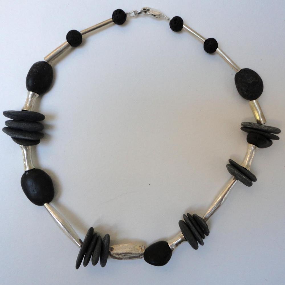 slate bundle necklace