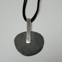 Classical slate pendant