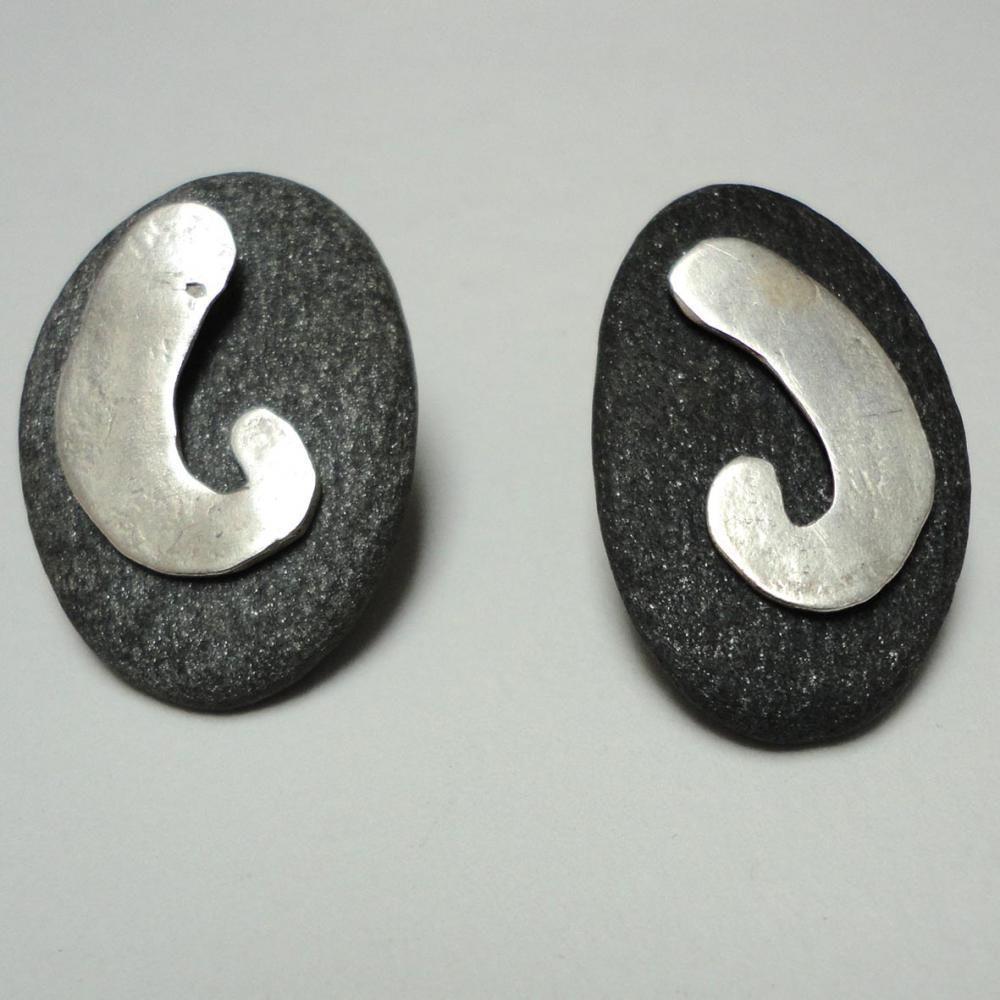 Slate earings