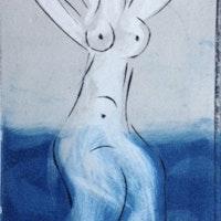 Nabatean Woman Sea