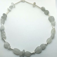 Beach Quartz and Silver